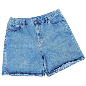 Vintage High Rise Mom Denim Jean Shorts
